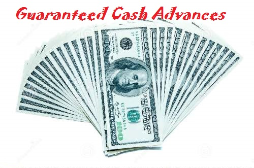 Guaranteed cash advance 100% ONLINE