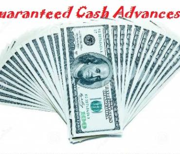 Guaranteed cash advance 100% ONLINE